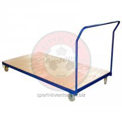 Trolley voor het vervoer van matten