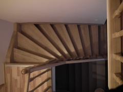 Г-образные лестницы или лестницы с поворотом на