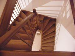 П-образные лестницы или лестницы с поворотом на