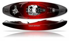 WaveSport Recon - a new kayak for cracking, with