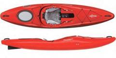 Dagger Katana - a hybrid kayak for rafting and