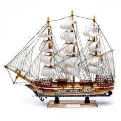 Модель корабля парусник 44 см SH08