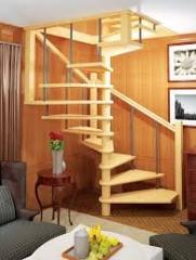 Винтовые деревянные лестницы Киев