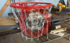 Netto basketbal vandaal