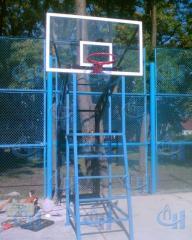 Стойка баскетбольная уличная двуопорная