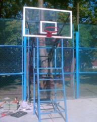 Стойка баскетбольная уличная двухопорная