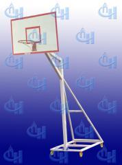 The rack is basketball street mobile