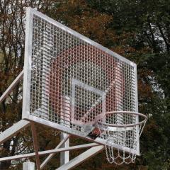 Shield basketbalwedstrijd vandaal