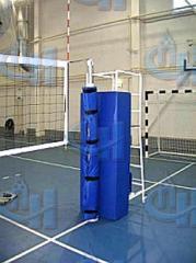 Защита для стойки судейской волейбольной