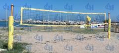 Стойки волейбольные пляжные с защитой (протектором)