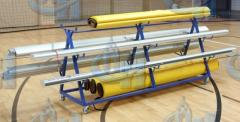 The cart for transportation of racks