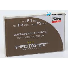 Pins gutta-percha ProTaper, Dentsply