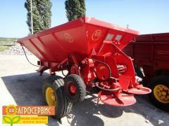 Spreader of MVU-6,MVU-8 fertilizers