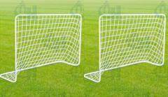 Ворота футбольные дачные в комплекте с сеткой (детские)