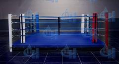 Ринг боксерский напольный мастерский 6х6 м