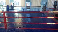 Ринг боксерский напольный стандарт 5х5 м