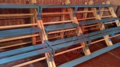 Gymnastiek muur bouwen tot tribunes