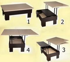 Раскладные столы-трансформеры