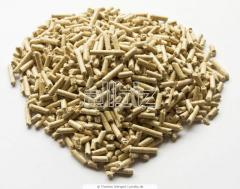 Pellets from coniferous breeds of a tree of 6 mm,