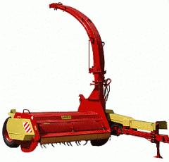 Forage harvester rotor hook-on KRP ROS-2