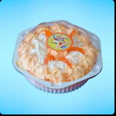 Торт-мороженое Орхидея апельсин