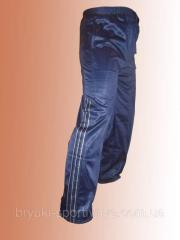 Trousers sports man's elastikovy Code: 0367