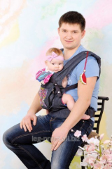 Baby sling ergonomic backpack carrying of
