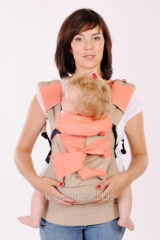 "Ergo backpack ""My baby - the Coral"