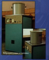 Vibrovacuum installations
