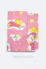 Комплект постельного белья в кроватку для
