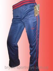 Штаны спортивные для женщин - эластик Код: К315Q