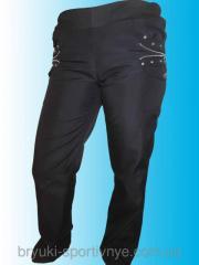 Женские брюки из плащевки Wolf Код: WKF69