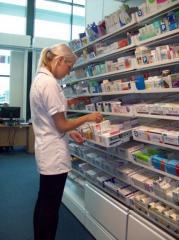 Rack equipment for Pharmashelve drugstores