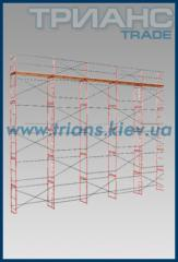 Woods construction frame type. Max. height - 40 m.