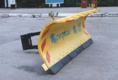 Snow cleaning equipment of CO 01 - a dump of the