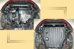 Protection of a motor compartment