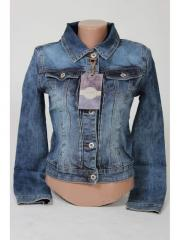 Jeans jacket female A806K size