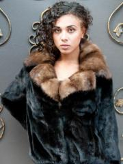 Fur coat sable 23088
