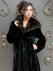 Fur coat sable 23094
