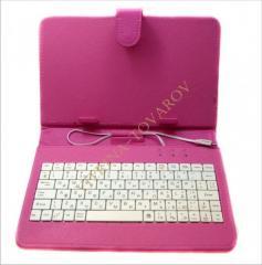 "Чехол-клавиатура для планшета7"""""