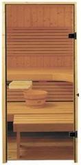 Glass doors for a sauna of 700*1900 Saunax