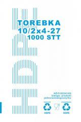 Пакет фасовочный №2 10 * 27 плотный Torebka (336