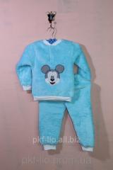 """Теплая и удобная пижама """"Микки"""" с"""