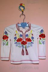 """Красивая блуза для девочки """"Вышиванка-6"""""""