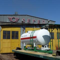 Stationary refueler gas, gas module, agzs
