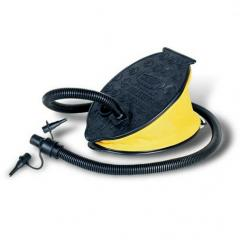 Yellow foot pump