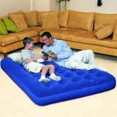 Матрас-кровать с напылением,  двуспальная....