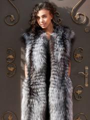 Fur coat Silver fox 7