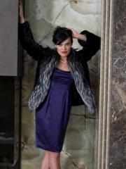Fur coat Silver fox 9
