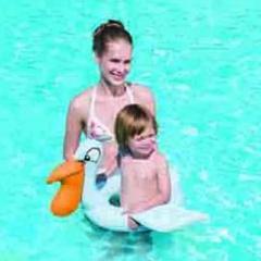 Wyposażenie sportowe i krążki dla pływania gumowe